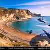 Europe - UK - United Kingdom - England - Dorset - Jurassic Coast - UNESCO World Heritage Site - Durdle Door Beach -