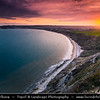 Europe - UK - United Kingdom - England - Dorset - Jurassic Coast - UNESCO World Heritage Site - Swanage - Most easterly coastal town on Jurassic Coast with gently shelving sandy beach and sheltered waters in wide Swanage Bay