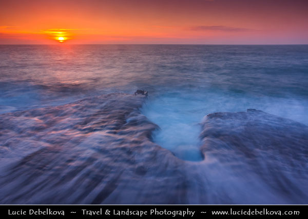 Europe - UK - United Kingdom - England - Dorset - Jurassic Coast - Isle of Portland - Portland Bill Lighthouse Area - Coastal rocky area with shallow reefs