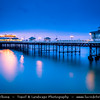Europe - UK - England - East Anglia - Norfolk - Cromer - Cromer Pier - Grade II listed seaside pier voted Pier of the Year 2015 by National Piers Society