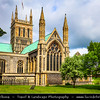 Europe - UK - England - East Anglia - Norfolk - Great Yarmouth - Coastal town at mouth of River Yare - Great Yarmouth Minster - Minster Church of St Nicholas - Largest parish church in England by floor-surface area founded in 1101