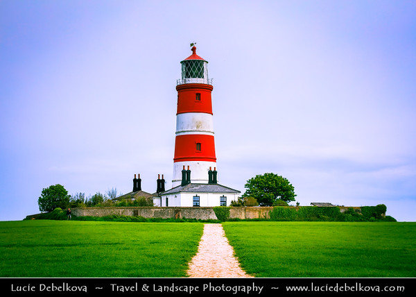 Europe - UK - England - East Anglia - Norfolk - Happisburgh Lighthouse - Oldest working lighthouse in East Anglia