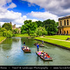 Europe - UK - England - East Anglia - Cambridgeshire - Cambridge - Famous historical university city on River Cam and home of University of Cambridge, founded in 1209, one of the top five universities in the world