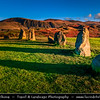 Europe - UK - United Kingdom - England - North West England - Cumbria - Lakes - Lake District National Park - Keswick - Castlerigg Stone Circle - One of most visually impressive prehistoric monuments in Britain