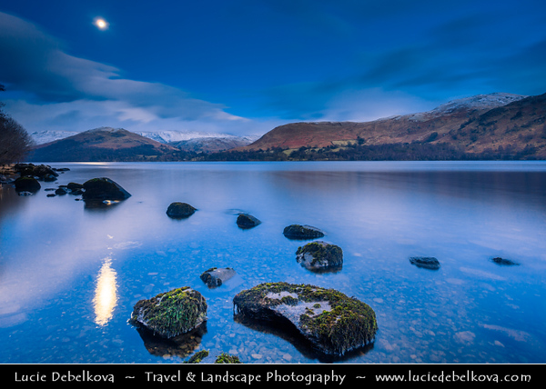 Europe - UK - United Kingdom - England - North West England - Cumbria - Lakes - Lake District National Park - Ullswater - 2nd largest lake in Lake District, cca 9 miles (14.5 kilometres) long & 0.75 miles (1,200 m) wide with a maximum depth of more than 60 metres (197 ft)