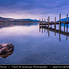 Europe - UK - United Kingdom - England - North West England - Cumbria - Lakes - Lake District National Park - Derwent Water Lake in Borough of Allerdale - South of Keswick town