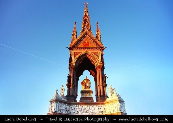 UK - England - London - The Albert Memorial in Kensington Gardens