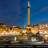 Europe - UK - England - London - Trafalgar Square - Public space & tourist attraction in central London, built around the area formerly known as Charing Cross