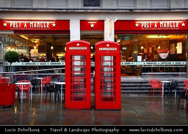 UK - England - London - Trafalgar Square