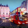 UK - England - London - Piccadilly Circus - Famous road junction and public space of London's West End in the City of Westminster