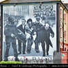 UK - Northern Ireland - County Derry - Londonderry - Old walled city on the west bank of the River Foyle - Mural Walls - Symbols of Northern Ireland, depicting the region's past and present political and religious divisions