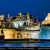 Europe - UK - United Kingdom - Scotland - Stirling Castle atop Castle Hill - One of largest & most important castles Scotland dating from at least early 12th century, present buildings mostly built between 1490 and 1600