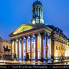 Europe - UK - United Kingdom - Scotland - Glasgow - Glesga - Glasgow Gallery of Modern Aart near George square at the city centre at Dusk - Twilight - Blue Hour