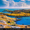 Europe - UK - Scotland - Western Isles of Scotland - Outer Hebrides - Isle Harris - Rugged rocky coastline of the south of the island
