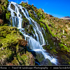 UK - Scotland - Isle of Skye - Fairy tale Cascading Waterfall at Ben Dearg