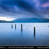 Europe - UK - United Kingdom - Scotland - Loch Lomond & Trossachs National Park - Loch Lomond - Loch Laomainn - Freshwater Scottish loch lying on Highland Boundary Fault - Largest inland stretch of water in Great Britain by surface area - Milarrochy