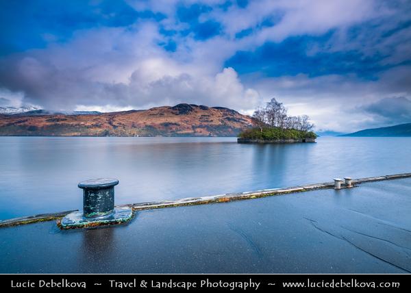 Europe - UK - United Kingdom - Scotland - Loch Lomond & Trossachs National Park - Loch Katrine