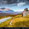 Europe - UK - United Kingdom - Scotland - Western Scottish Highlands - Western Ross - Spectacular landscape along Dundonnell River