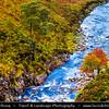 Europe - UK - United Kingdom - Scotland - Western Scottish Highlands - Western Ross - Spectacular landscape along Dundonnell River with cascade waterfalls