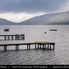 Europe - UK - United Kingdom - Scotland - Loch Lomond & Trossachs National Park - Loch Earn - Loch Eire - Loch Éireann - Freshwater Loch in Central highlands