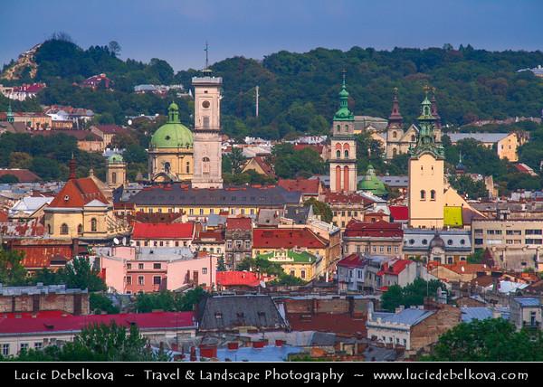 Europe - Ukraine - Lviv - L'viv - Львів - Lwów - Львов - L'vov - Lvov - UNESCO World Heritage Site - Historic Old Town - State Historic-Architectural Sanctuary