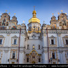 Europe - Ukraine - Kiev - Kyiv - Київ - Kiev Pechersk Lavra - UNESCO World Heritage Site - Києво-Печерська лавра -  Kyievo-Pechers'ka lavra - Kiev Monastery of the Caves - Historic Orthodox Christian Monastery