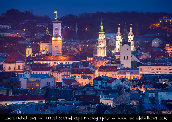 Europe - Ukraine - Lviv - L'viv - Львів - Lwów - Львов - L'vov - Lvov - UNESCO World Heritage Site - Historic Old Town - State Historic-Architectural Sanctuary