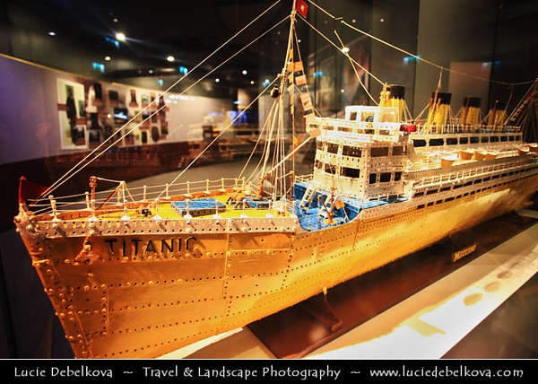 UK - Northern Ireland - Belfast - Ulster Folk & Transport Museum - Exhibition & Titanica - The People Story