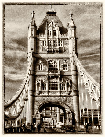 On Tower Bridge - London, UK