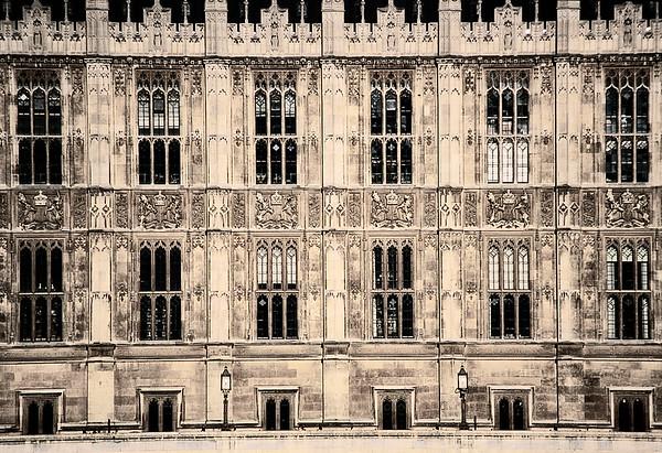 Parliament Front Facde - London, UK