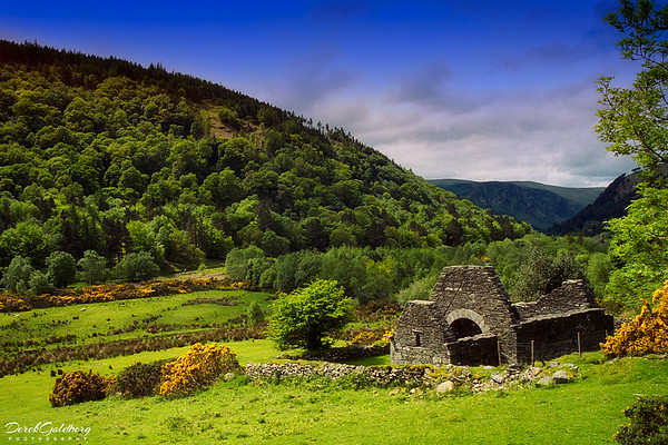 Landscape #1, Glendalough Countryside - Ireland