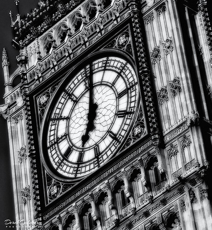 Big Ben Clock - London, UK