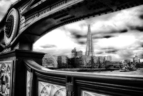 View from Tower Bridge - London, UK