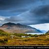 Europe - UK - United Kingdom - Scotland - Western Scottish Highlands - Western Ross - Loch Maree - Fourth largest freshwater loch in Scotland nestled within dramatic landscapes of Scotland's Western Highlands
