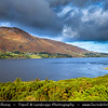 Europe - UK - United Kingdom - Scotland - Western Scottish Highlands - Ross and Cromarty - Loch Broom - Lochbraon - Sea loch fed by River Broom which rises in Dirrie mountains