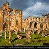 Europe - UK - United Kingdom - Scotland - Elgin - Elgin Cathedral - known as the 'Lantern of the North' - Majestic, historic ruin, one of Scotland's most beautiful medieval buildings, dating back to the 13th century