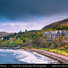 Europe - UK - United Kingdom - Scotland - Western Scottish Highlands - Western Ross - Loch Gairloch in North-West Highlands of Scotland - Sea loch with awe-inspiring scenery
