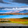 Europe - UK - United Kingdom - Scotland - Western Scottish Highlands - Western Ross - Little Loch Broom - Sea loch surrounded by spectacular mountain backdrop