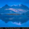 Europe - UK - United Kingdom - Scotland - Western Highlands - Loch Leven - Loch Liobhann at Dusk - Twilight - Blue Hour