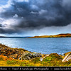Europe - UK - United Kingdom - Scotland - Western Scottish Highlands - Western Ross - Gruinard Bay - Dramatic changeable weather
