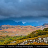 Europe - UK - United Kingdom - Scotland - Western Scottish Highlands - Western Ross - Loch Maree - Fourth largest freshwater loch in Scotland nestled within dramatic landscapes of Scotland's Western Highlands