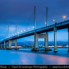 UK - Scotland - Inverness - Moray Firth Bridge - Kessock BridgeUK - Scotland - Inverness - Moray Firth Bridge - Kessock Bridge - Drochaid Cheasaig - Cable-stayed bridge across the Beauly Firth, an inlet of the Moray Firth