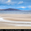 Europe - UK - United Kingdom - Scotland - Western Scottish Highlands - Western Ross - Gruinard Bay - Gruinard Beach - Unspoilt sheltered sandy beach located near Kinloch Hourn renowned for its beauty, with shallow, crystal-clear water, cliffs and white sand dunes
