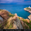Europe - UK - Wales - North Wales - Isle of Anglesey - Holyhead - South Stack Lighthouse - Designed to allow safe passage for ships on the treacherous Dublin - Holyhead - Liverpool sea route