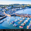 Europe - UK - Wales - South West Wales - Pembrokeshire Coast National Park - Saundersfoot - Seaside resort & one of the most visited Welsh holiday destinations