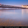 Europe - UK - United Kingdom - England - Somerset - Weston-Super-Mare - Coastal town & seaside resort with 2nd highest tidal range in world, which can be up to 15 meters - Grand Pier - Seaside pier with land train