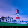Europe - UK - United Kingdom - England - Northumberland - North East of England - Lizard Point - Souter lighthouse at Whitburn on the South Tyneside coastline