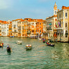 Cruising the Grand Canal,Venice,Italy