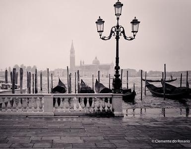 A view of San Giorgio Maggiore from Piazza San Marco, Venice, Italy