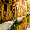 Picturesque canal in Venice,Italy